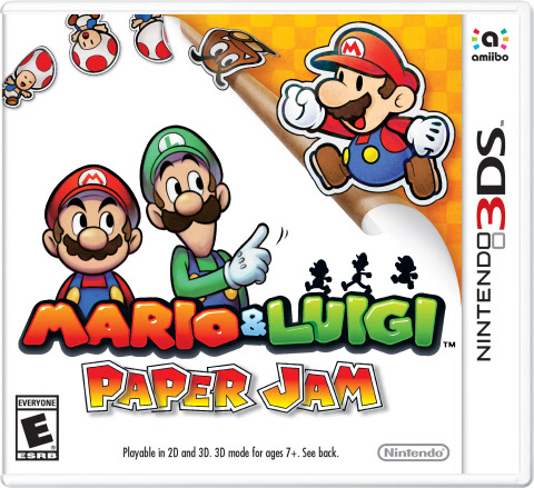 Two classic gaming universes collide when flat Paper Mario jumps off the page and into the world of  ...