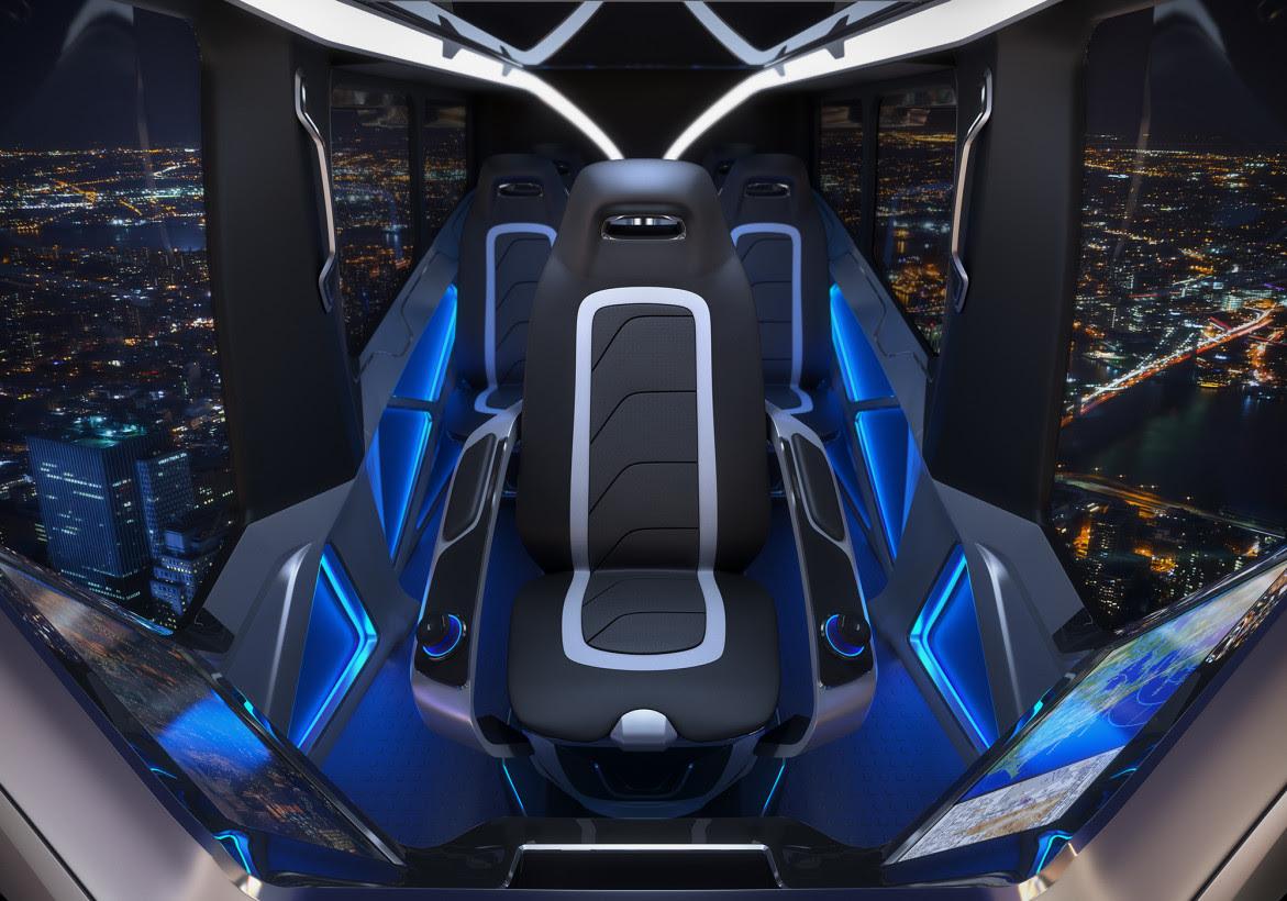 The Bell Nexus' interior