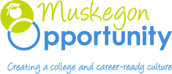 This is a picture of the Muskegon Opportunity Logo.