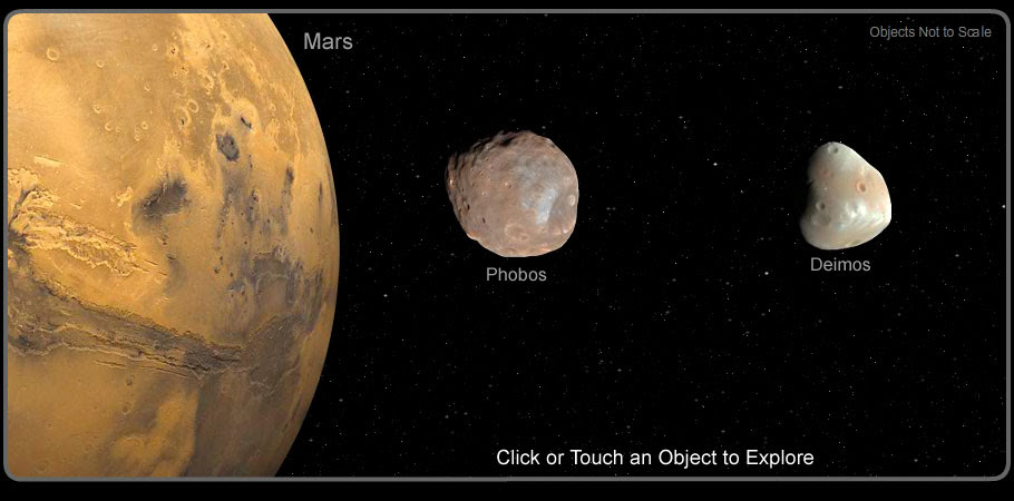 Image result for Mars Has Moons