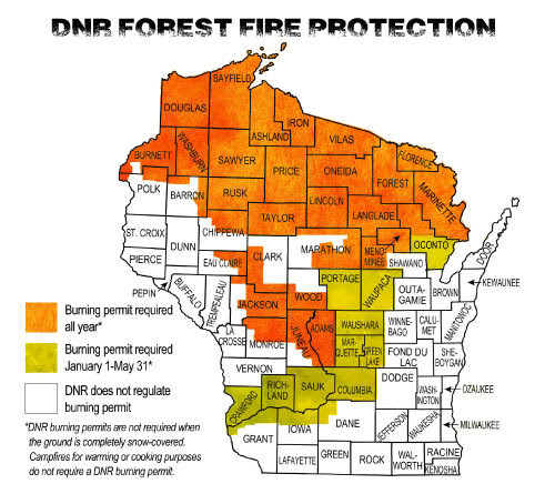 DNR Protection Areas Map