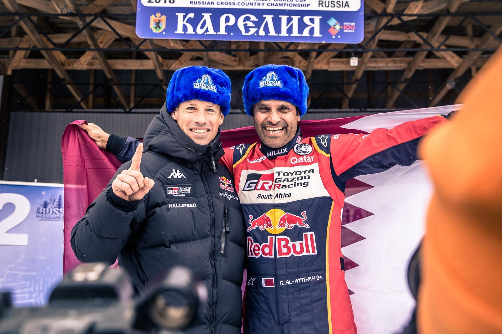 Нассер Аль-Аттия  стал победителем зимнего ралли-рейда