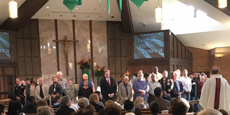 St. Norbert Honors Veterans