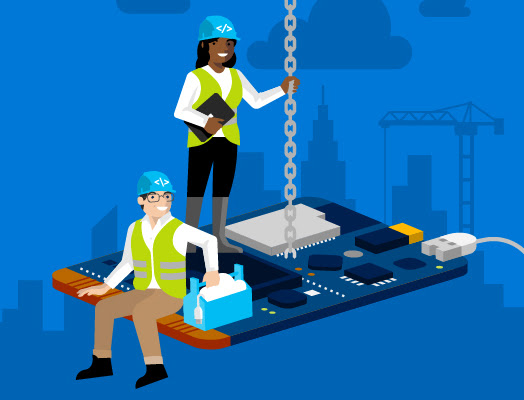 Build and Learn IoT with Azure and Visual Studio Code.