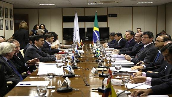 Argentina, Uruguay y Venezuela ya han ratificado el protocolo, por lo que solo espera por la aprobación del parlamento de Paraguay, Brasil y la misma Bolivia. Foto: EFE