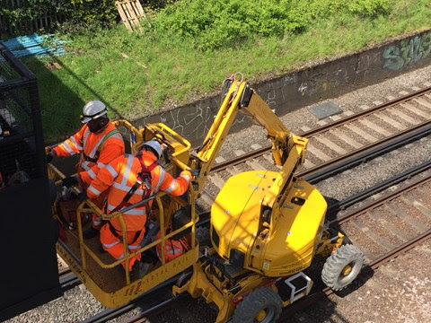 Railway upgrade means passengers should check before travelling