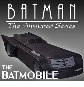 BATMAN ANIMATED BATMOBILE