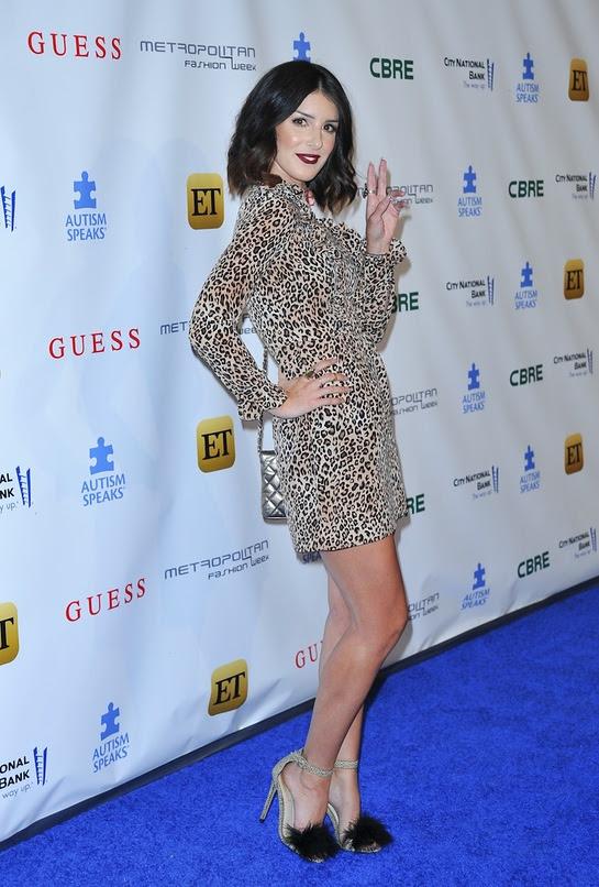 Shenae Grimes attends Autism Speaks La Vie En Blue Fashion Gala