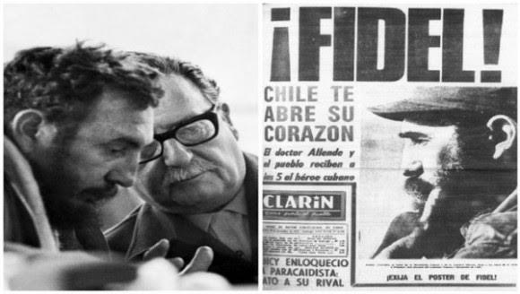 Fidel en Chile (2)