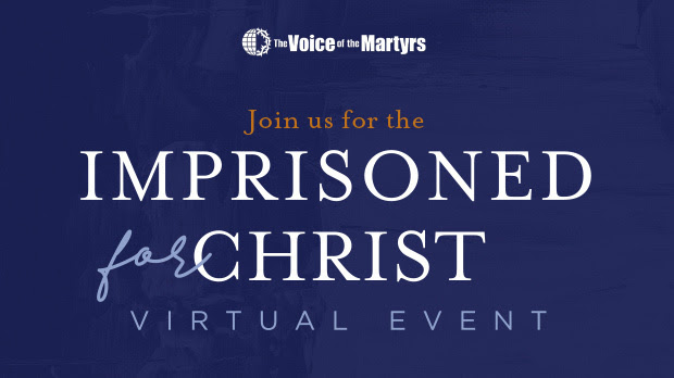 Imprisoned for Christ Virtual Event
