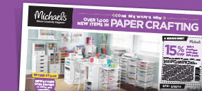 Come See What's New. OVER 1,000 NEW ITEMS IN PAPER CRAFTING.