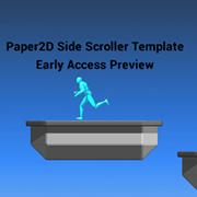 Paper2D Side Scroller Template