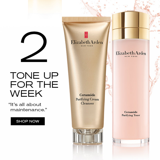 """TONE UP FOR THE WEEK """"It's all about maintenance."""" SHOP NOW"""