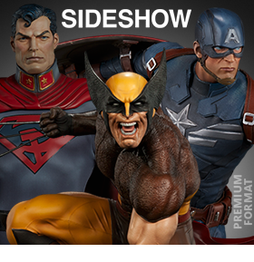 NEW SIDESHOW COLLECTIBLES AND HOT TOYS