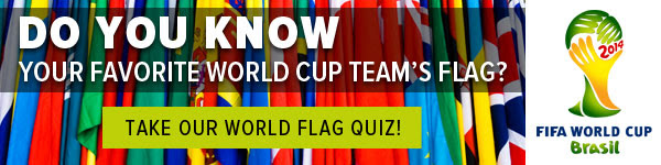 Do you know your favorite world cup team's flag?