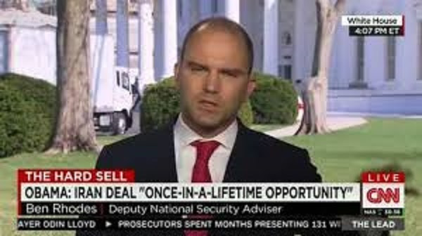 Ben Rhodes, Obama's last minute controversial appointment to the council of the US Holocaust Memorial Museum