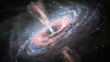 Galaxy With an Active Quasar