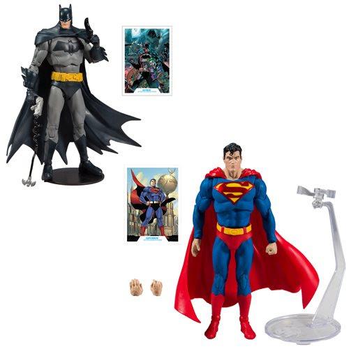 """Image of DC Batman Superman Wave 1 - 7"""" Action Figure Set of 2"""