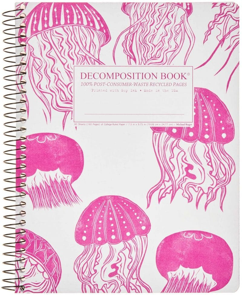 Jellyfish Decomposition Book, $9 @decomposition.co,