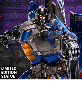 LEGACY OF CYBERTRON THUNDERCRACKER LIMITED EDITION STATUE