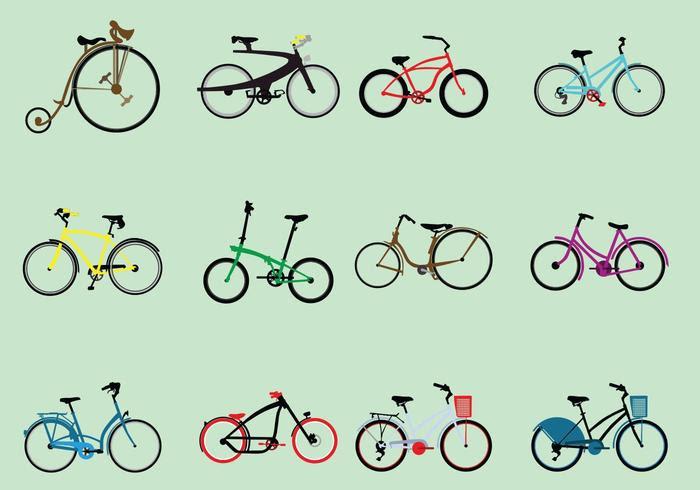 Afbeeldingsresultaat voor allerlei fietsen