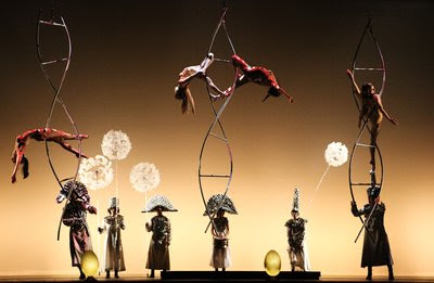 La Verita, photo credit Viviana Cangialosi (C) Salvador Dali, Fundacion Gala-Salvador Dali. Compagnia Finzi Pasca will bring their mix of astonishing acts and fantastic visuals to Sydney in La Verita, a circus spectacle inspired by Spanish surrealist Salvador Dali.