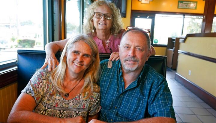 Debby-Neal Strickland, Jim Merthe, and Mylaen Merthe