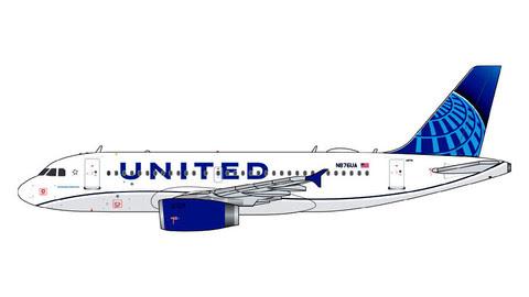 GJUAL1914   Gemini Jets 1:400 1:400   Airbus A319 United N876UA   is due: February 2020