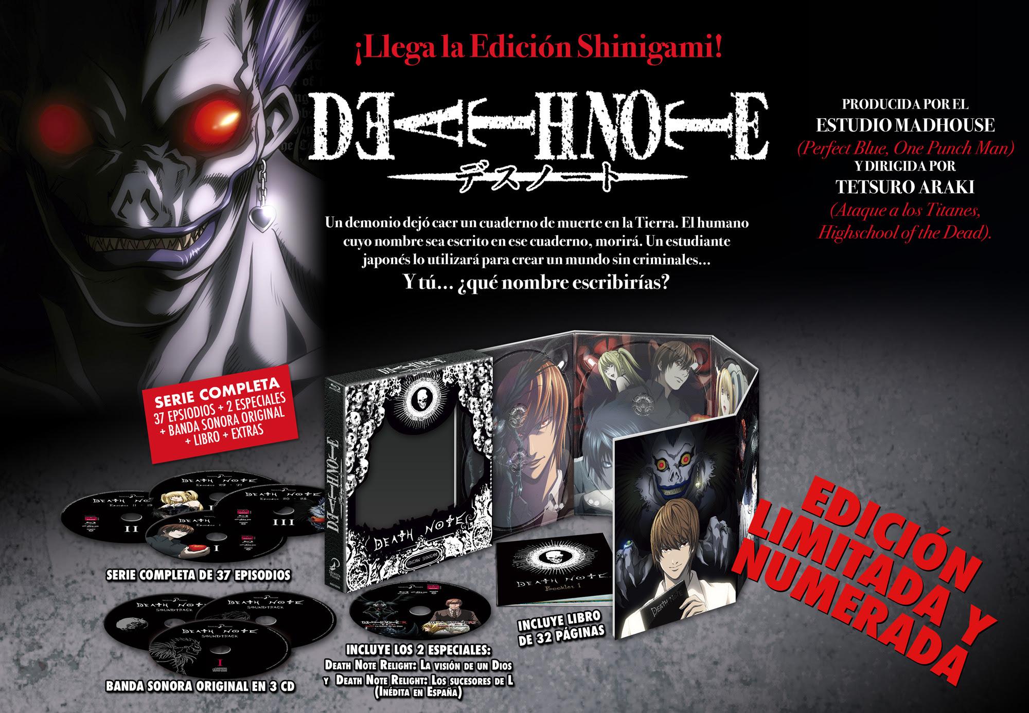Death Note. Edición Shinigami