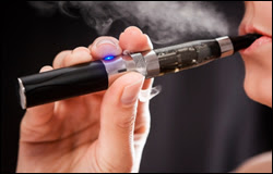 E-cigarette use among youths and adults has risen sharply in the United States.
