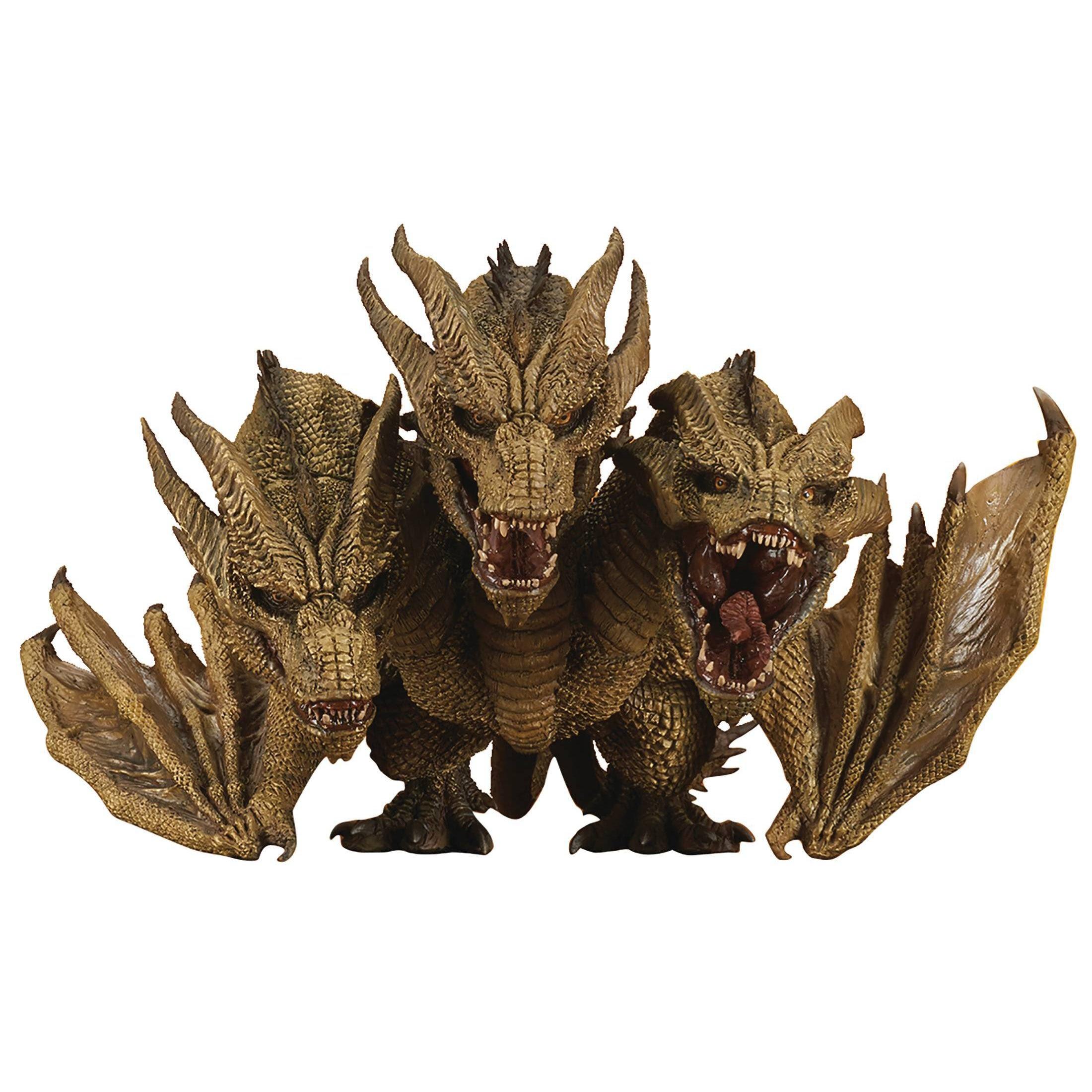 Image of Godzilla 2019 King Ghidorah Deforeal Soft Vinyl Statue - MARCH 2020