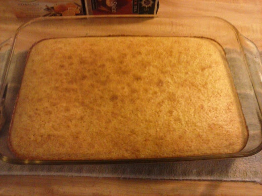 Golden Brown cornbread
