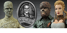 UNIVERSAL MONSTERS SELECT FIGURES