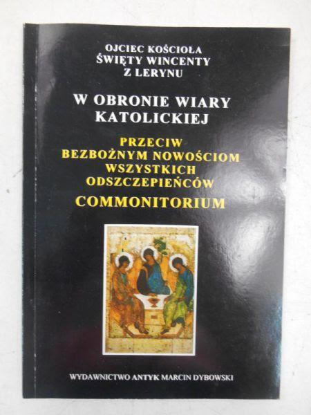 ÅšwiÄ™ty Wincenty z Lerynu - W obronie wiary katolickiej - Wincenty ...