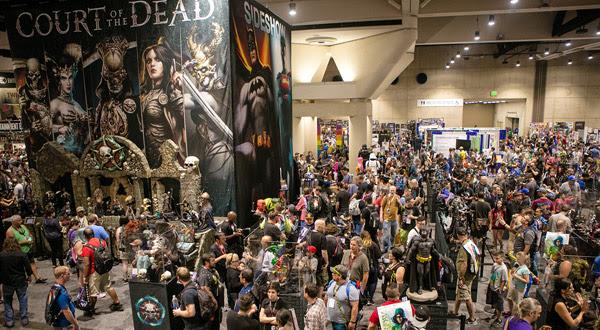 Comic-Con Booth