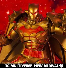 Batman and Robin DC Multiverse Batman (Hellbat Suit Gold Ver.) Action Figure