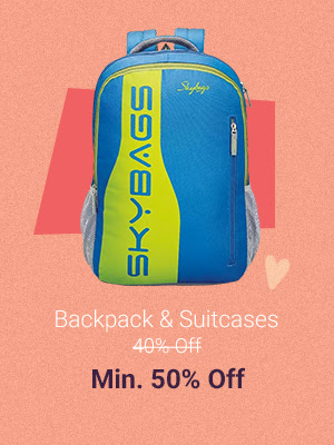 Backpacks at Min. 50% Off