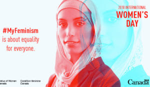 "Canadian government issues Women's Day image of hijabi: ""#MyFeminism is about equality for everyone"""