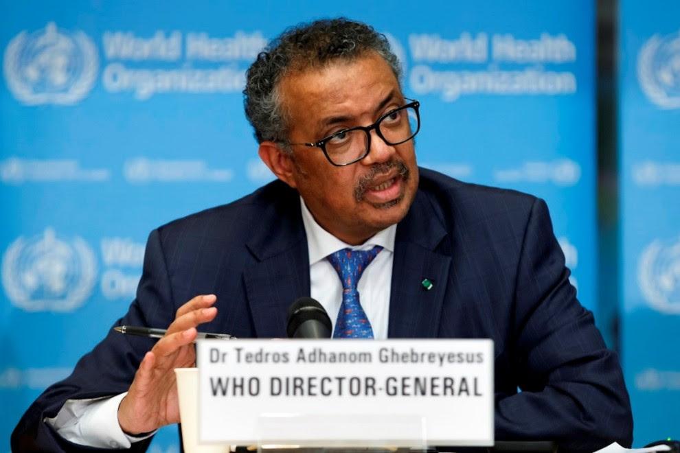 Tedros Adhanom, director de la Organización Mundial de la Salud. EFE / Salvatore Di Nolfi / Archivo