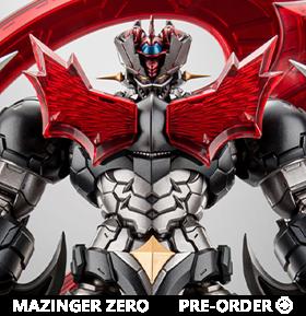 Shin Mazinger ZERO Vs. Great General of Darkness Mazinger ZERO figure