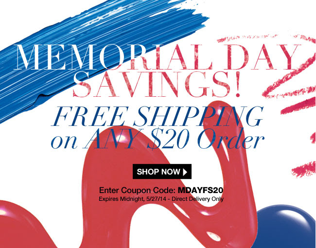 FREE Shipping on Your Order: Celebrate Memorial Day!