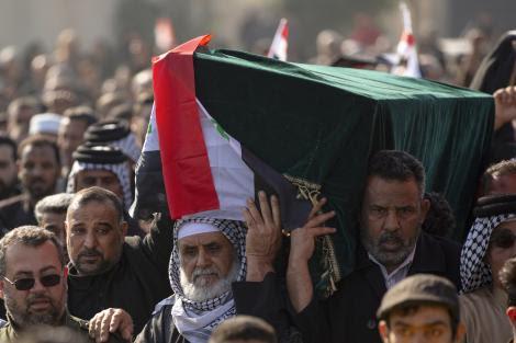 El funeral de Qasem Soleimani.