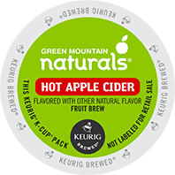 Green Mountain Naturals Hot Apple Cider Keurig Kcups