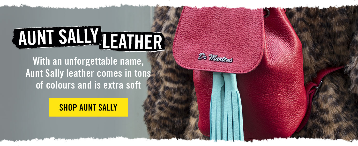 AUNT SALLY LEATHER - With an unforgettable name, Aunt Sally leather comes in tons of colours and is extra soft - SHOP AUNT SALLY