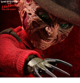 LIVING DEAD DOLLS TALKING FREDDY KRUEGER