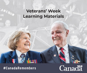 Veteran's Week Learning Materials from Veterans Affairs Canada