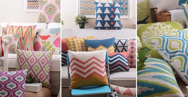 Fun Patterned Pillow Covers | 75+ Designs