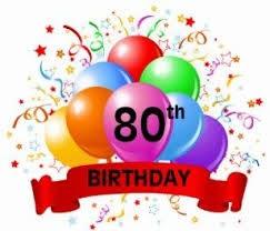 80th Birthday