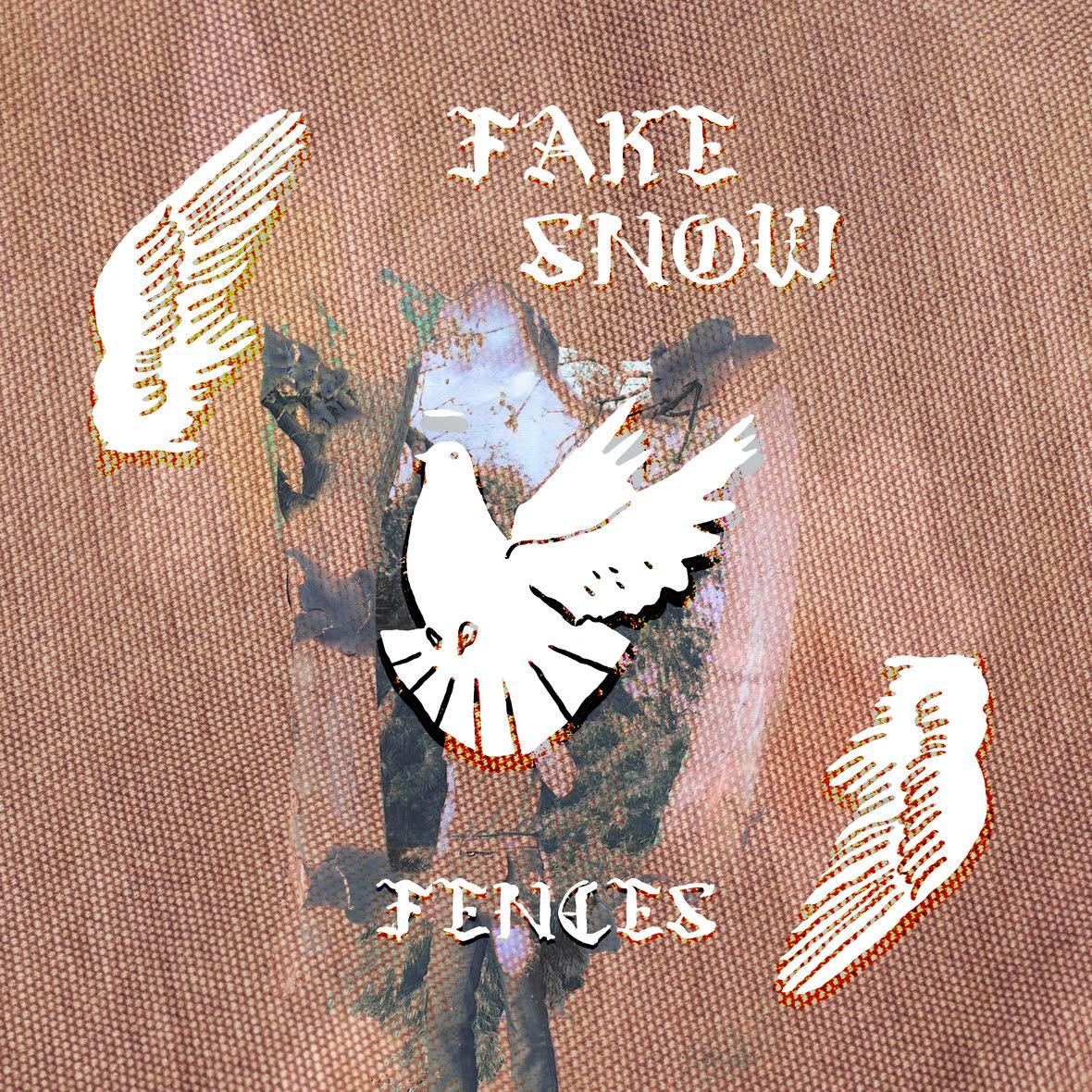fake snow single cover