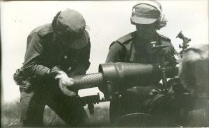 Morteros de 120 mm.